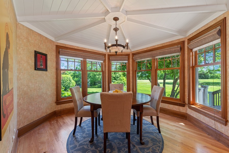 Real Estate Photography - 1655 Monterey Dr, Glenview, IL, 60026 - Breakfast Room