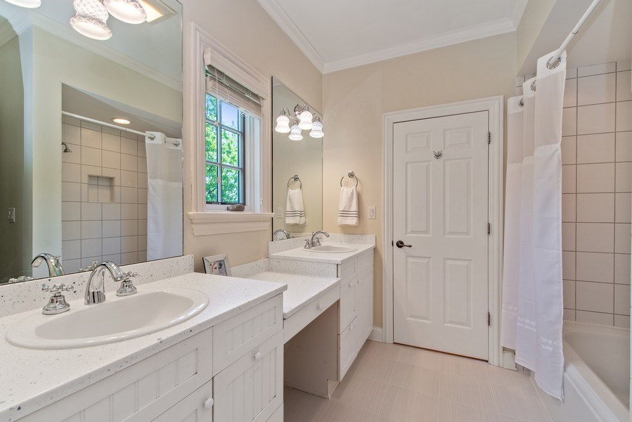 Real Estate Photography - 1655 Monterey Dr, Glenview, IL, 60026 - Bathroom