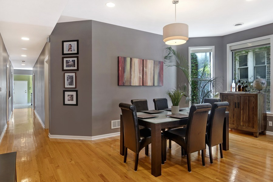 Real Estate Photography - 3519 N Sheffield, Unit 2S, Chicago, IL, 60657 - Dining Room