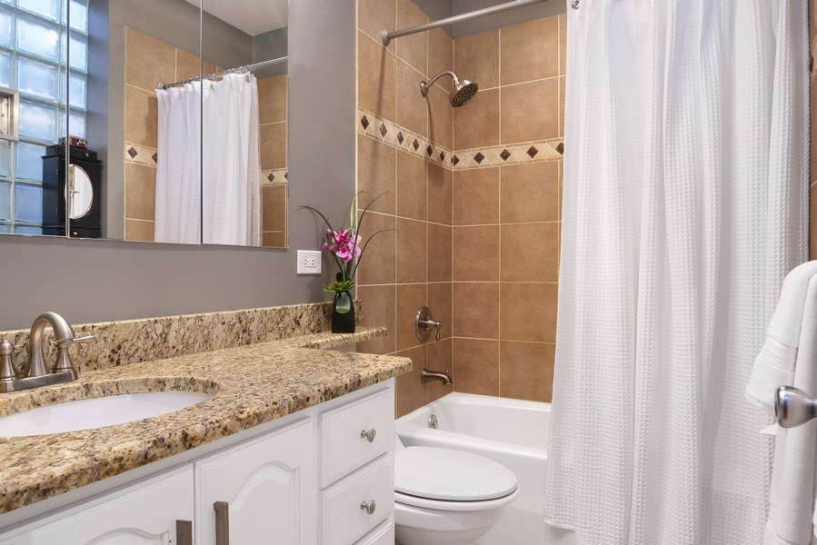 Real Estate Photography - 3519 N Sheffield, Unit 2S, Chicago, IL, 60657 - Bathroom