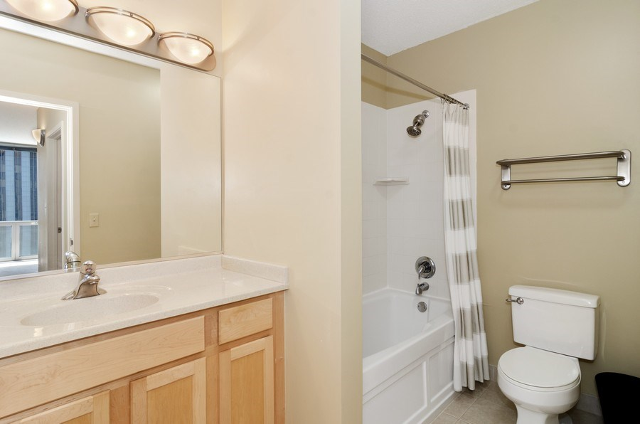 Real Estate Photography - 222 N Columbus Dr, 1902, Chicago, IL, 60601 - Master Bathroom