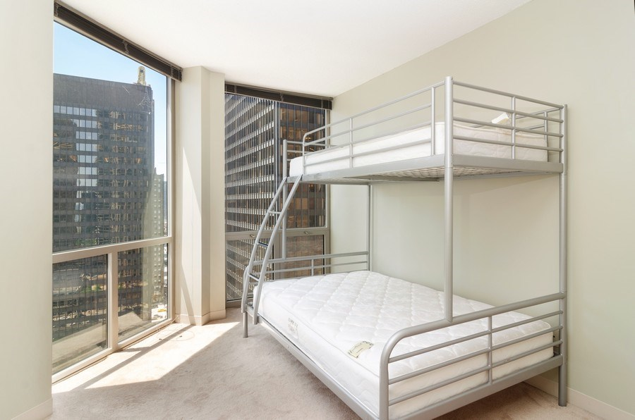 Real Estate Photography - 222 N Columbus Dr, 1902, Chicago, IL, 60601 - 2nd Bedroom