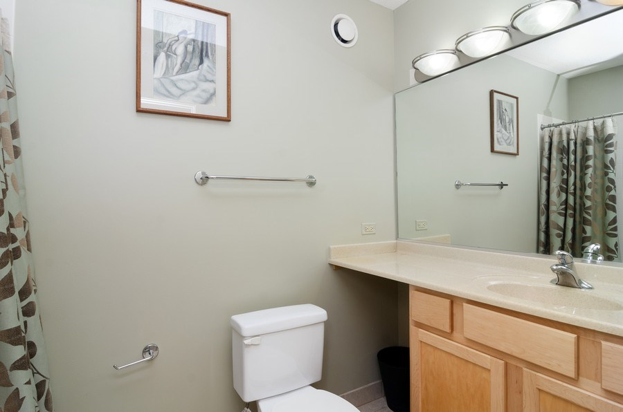 Real Estate Photography - 222 N Columbus Dr, 1902, Chicago, IL, 60601 - Bathroom