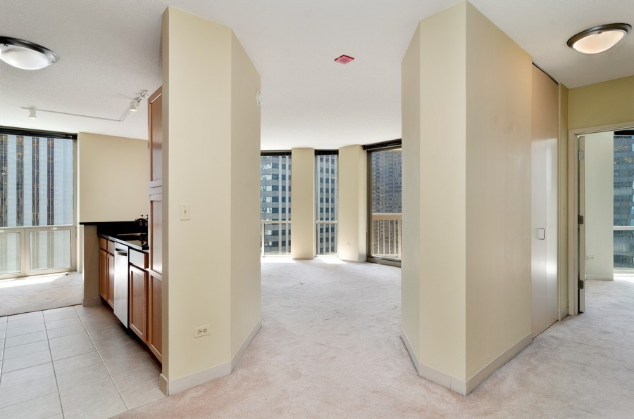 Real Estate Photography - 222 N Columbus Dr, 1902, Chicago, IL, 60601 - Entryway