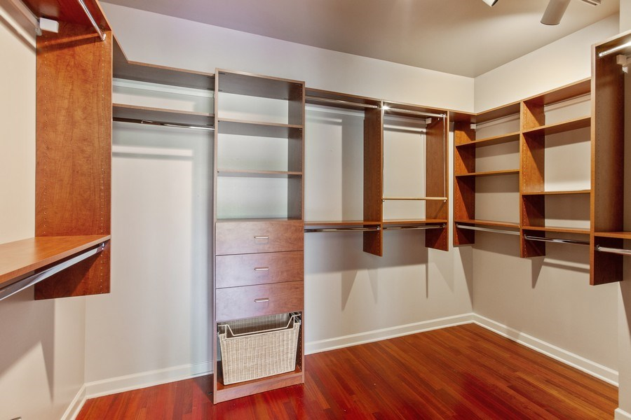 Real Estate Photography - 464 W Superior, Chicago, IL, 60654 - Master Bedroom Closet