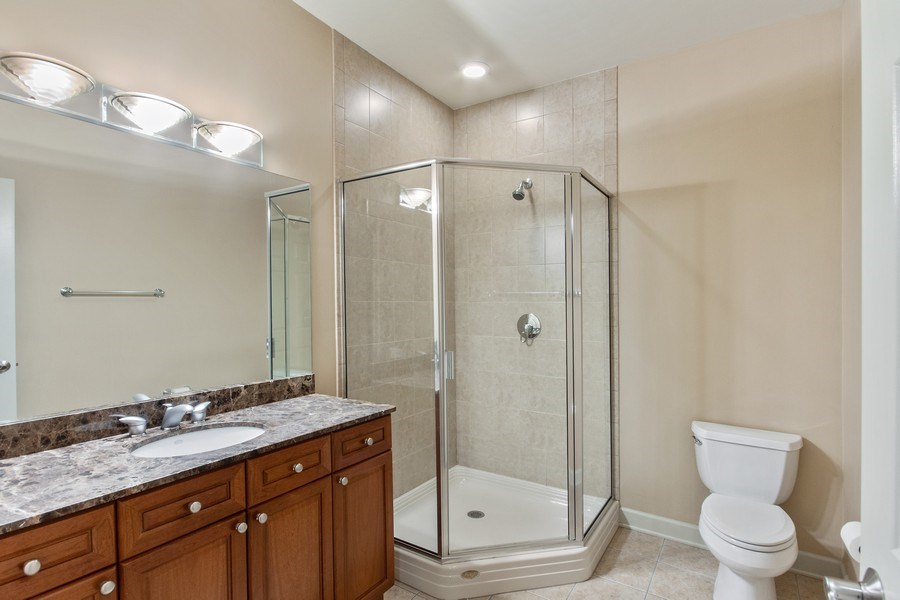 Real Estate Photography - 464 W Superior, Chicago, IL, 60654 - 2nd Bathroom