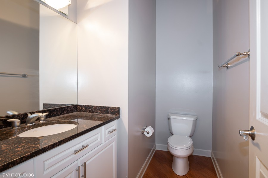 Real Estate Photography - 464 W Superior, Chicago, IL, 60654 - Half Bathroom