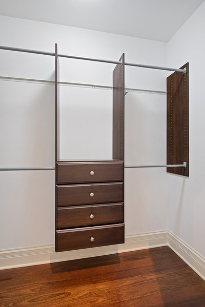 Real Estate Photography - 3926 N Greenview Ave, Chicago, IL, 60613 - Master Bedroom Closet