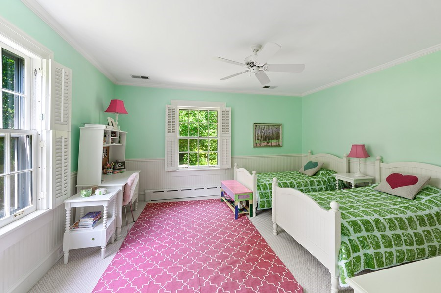 Real Estate Photography - 44 Indian Hill Rd, Winnetka, IL, 60093 - 2nd Bedroom