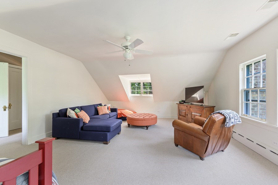 Real Estate Photography - 44 Indian Hill Rd, Winnetka, IL, 60093 - 3rd Floor Playroom/5th Bedroom