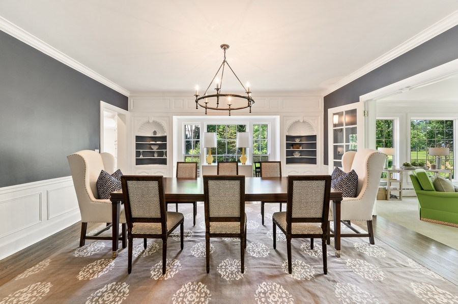 Real Estate Photography - 44 Indian Hill Rd, Winnetka, IL, 60093 - Dining Room