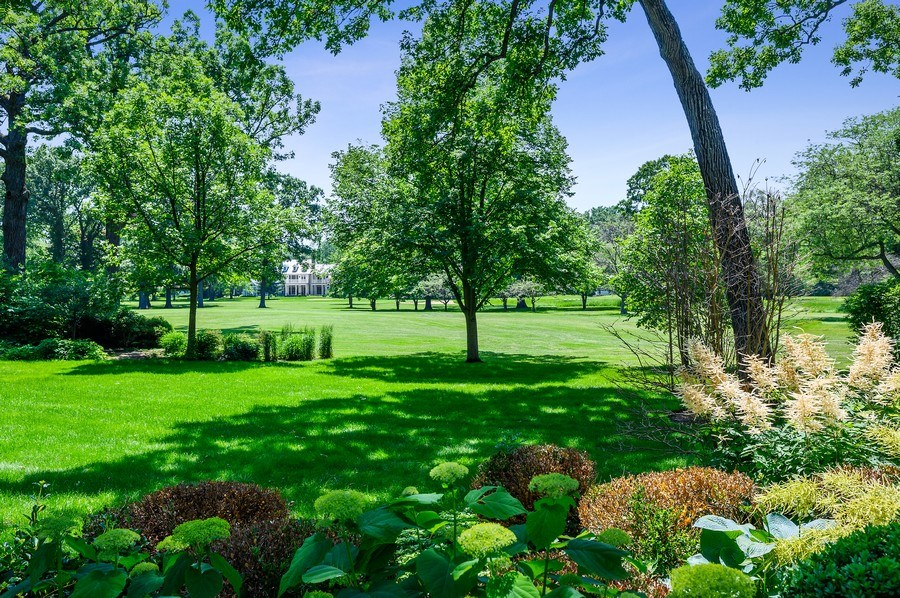 Real Estate Photography - 44 Indian Hill Rd, Winnetka, IL, 60093 - Back Yard
