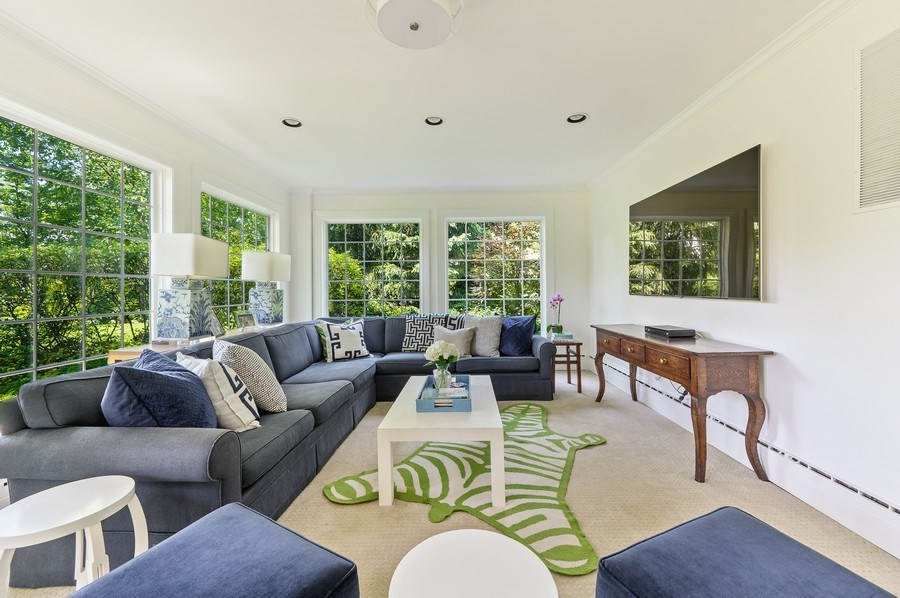 Real Estate Photography - 44 Indian Hill Rd, Winnetka, IL, 60093 - Family Room