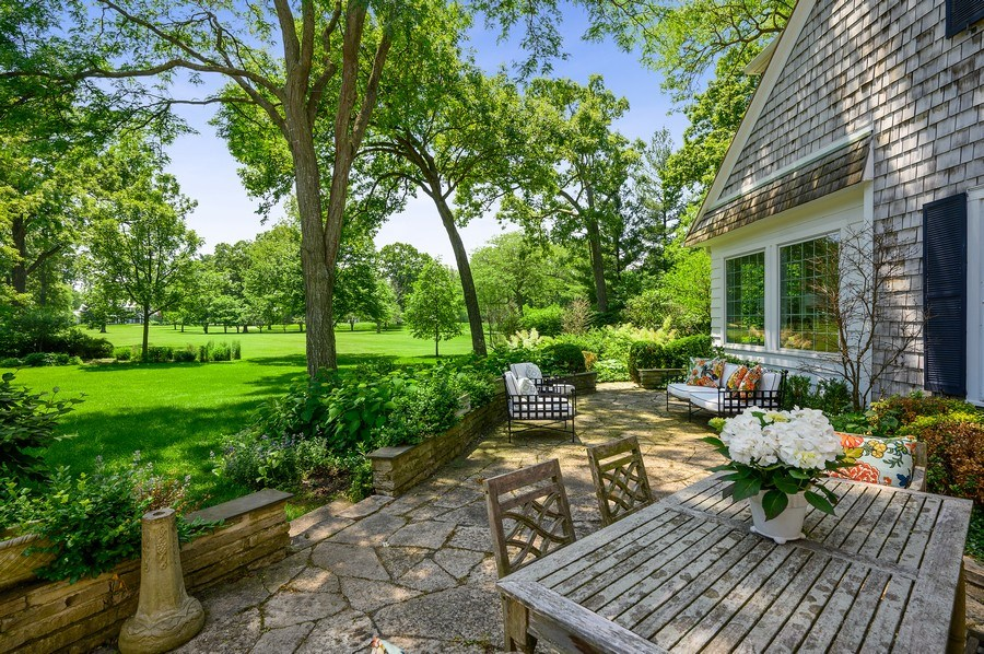 Real Estate Photography - 44 Indian Hill Rd, Winnetka, IL, 60093 - Patio