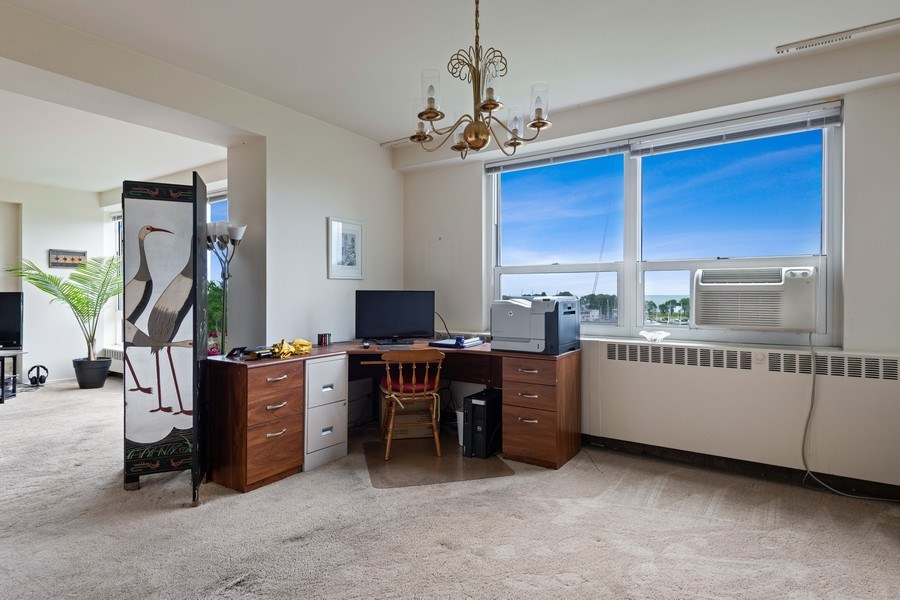 Real Estate Photography - 3180 N Lake Shore Dr, 5D, Chicago, IL, 60657 - Dining Room
