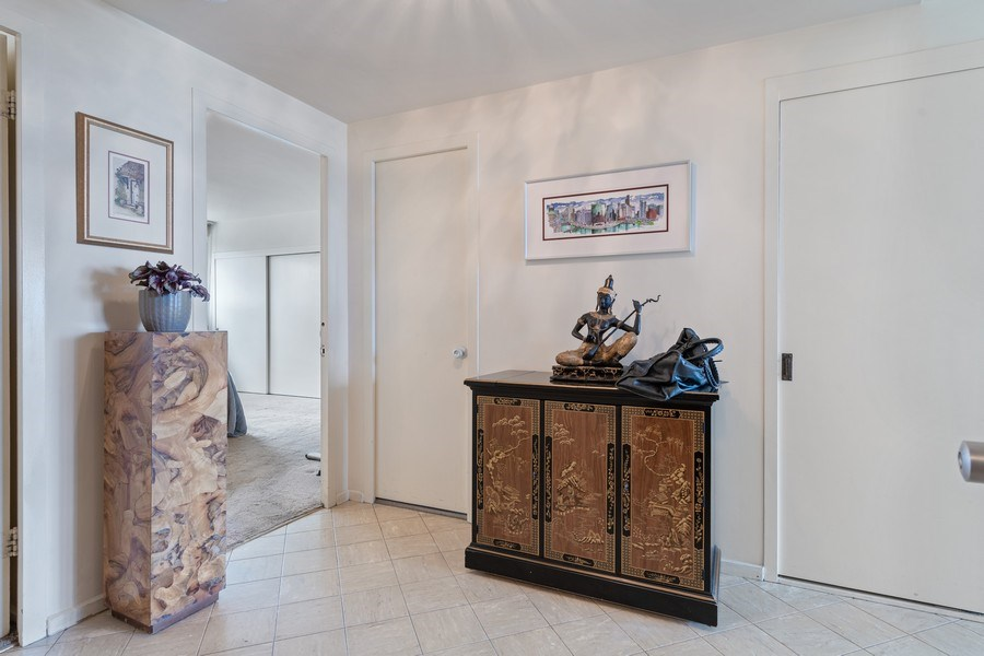 Real Estate Photography - 3180 N Lake Shore Dr, 5D, Chicago, IL, 60657 - Foyer