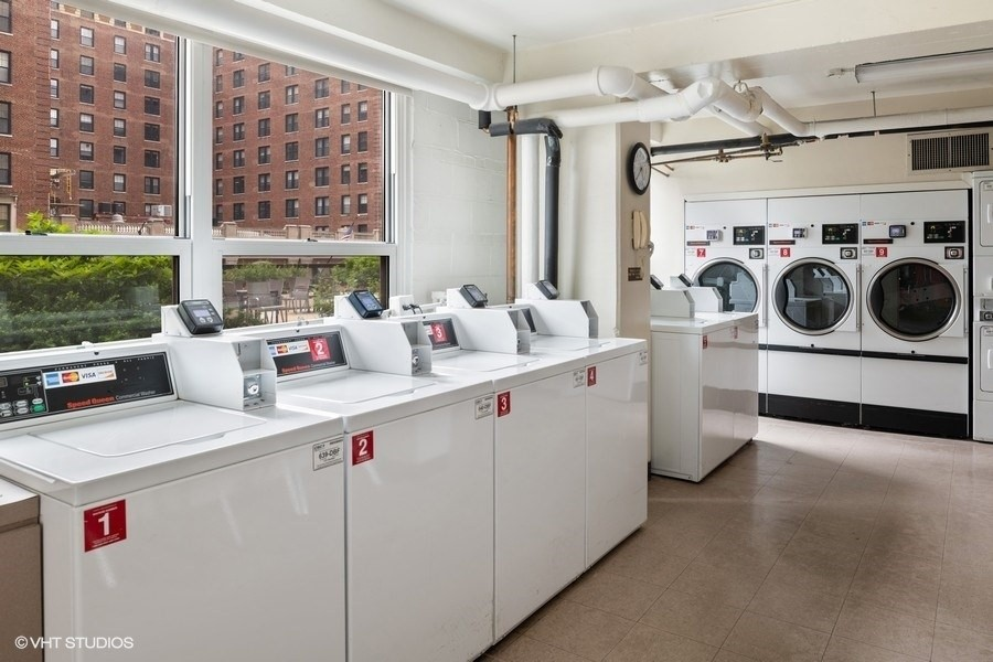 Real Estate Photography - 3180 N Lake Shore Dr, 5D, Chicago, IL, 60657 - North Laundry Room
