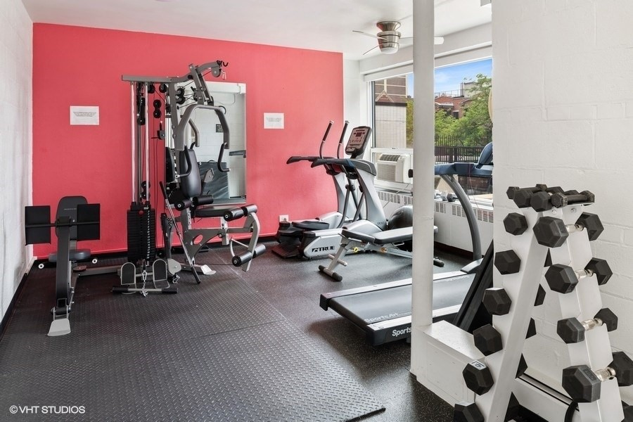 Real Estate Photography - 3180 N Lake Shore Dr, 5D, Chicago, IL, 60657 - Fitness Center