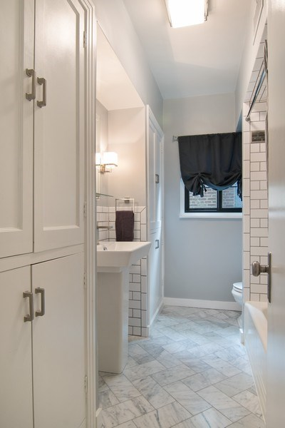 Real Estate Photography - 2326 Greenwood, Wilmette, IL, 60091 - Bathroom
