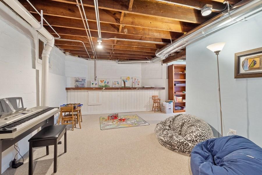 Real Estate Photography - 249 W Lake St, Barrington, IL, 60010 - Recreation Room