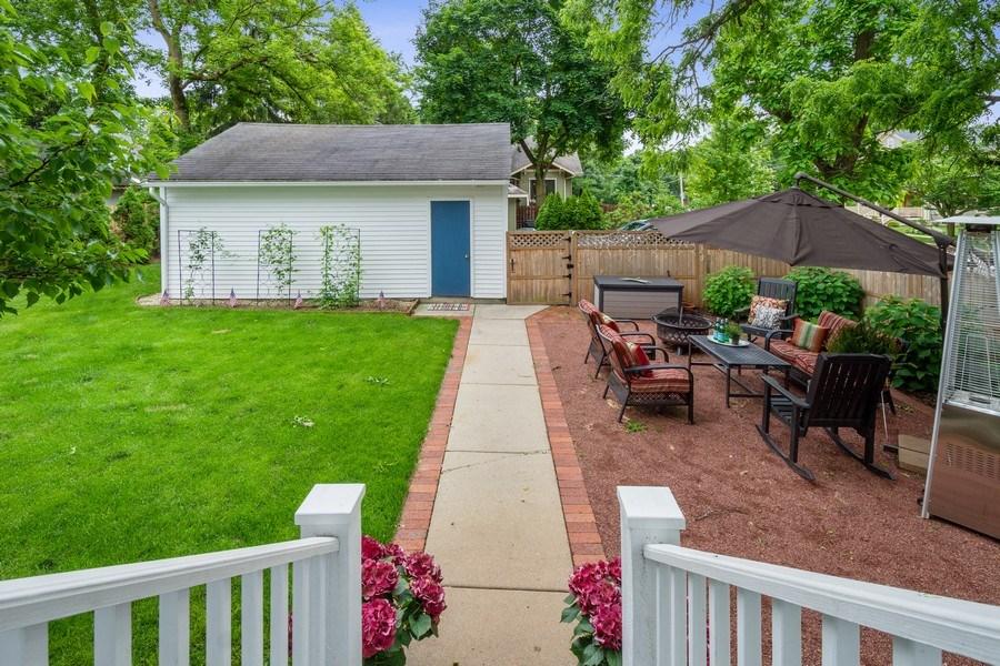 Real Estate Photography - 249 W Lake St, Barrington, IL, 60010 - Backyard & Patio