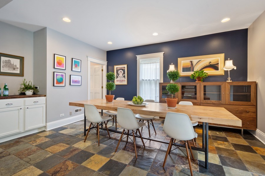 Real Estate Photography - 249 W Lake St, Barrington, IL, 60010 - Dining Room