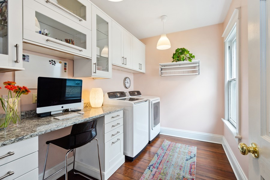 Real Estate Photography - 249 W Lake St, Barrington, IL, 60010 - Laundry Room / Office