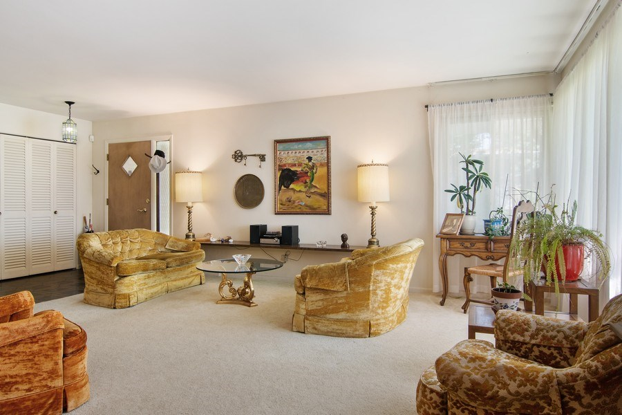 Real Estate Photography - 8944 Oak Park Ave, Morton Grove, IL, 60053 - Living Room