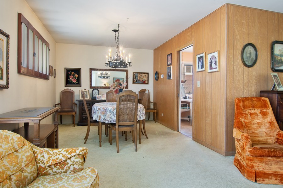 Real Estate Photography - 8944 Oak Park Ave, Morton Grove, IL, 60053 - Dining Room