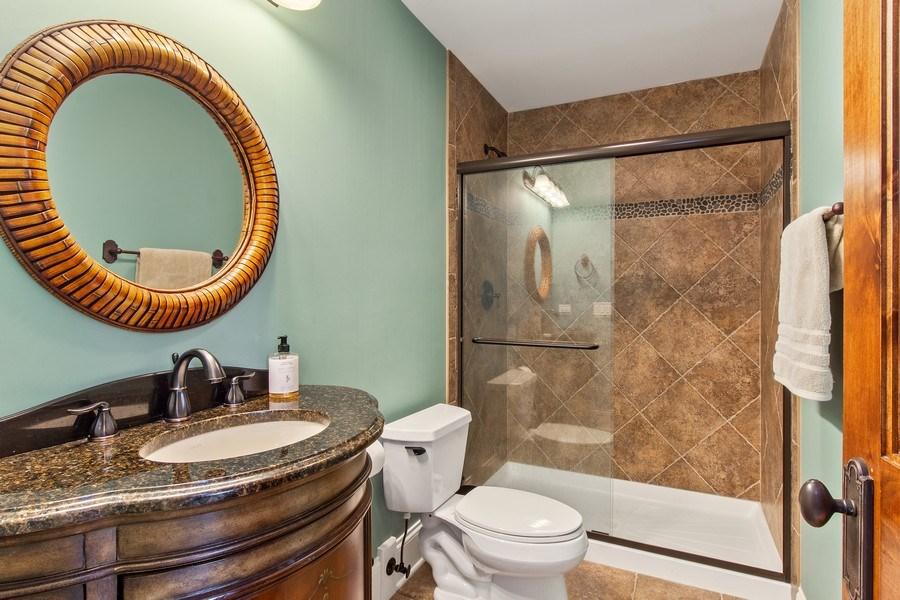 Real Estate Photography - 28317 Gray Barn Ln, Lake Barrington, IL, 60010 - 3rd Bathroom