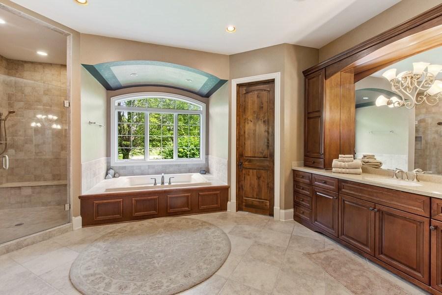 Real Estate Photography - 28317 Gray Barn Ln, Lake Barrington, IL, 60010 - Master Bathroom