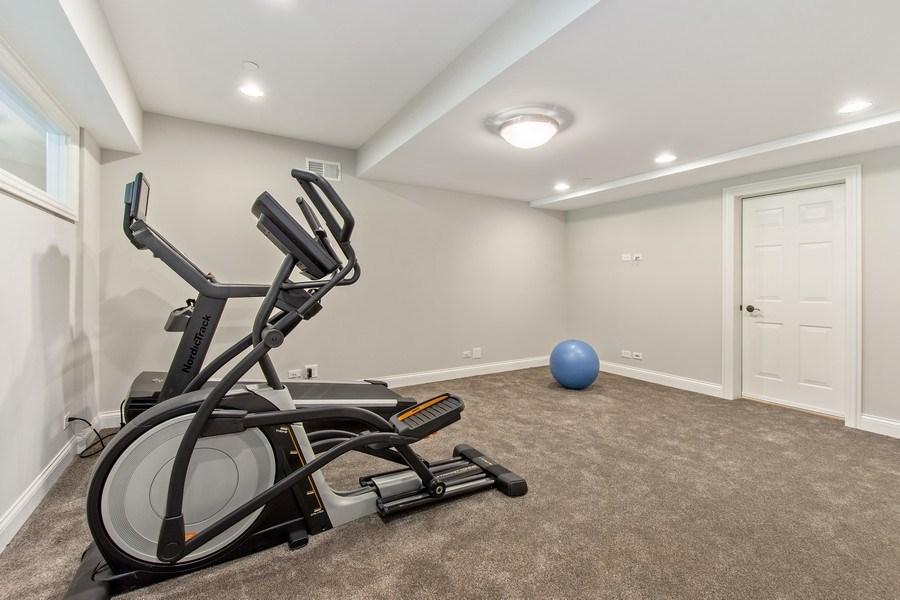 Real Estate Photography - 28317 Gray Barn Ln, Lake Barrington, IL, 60010 - Fitness Room