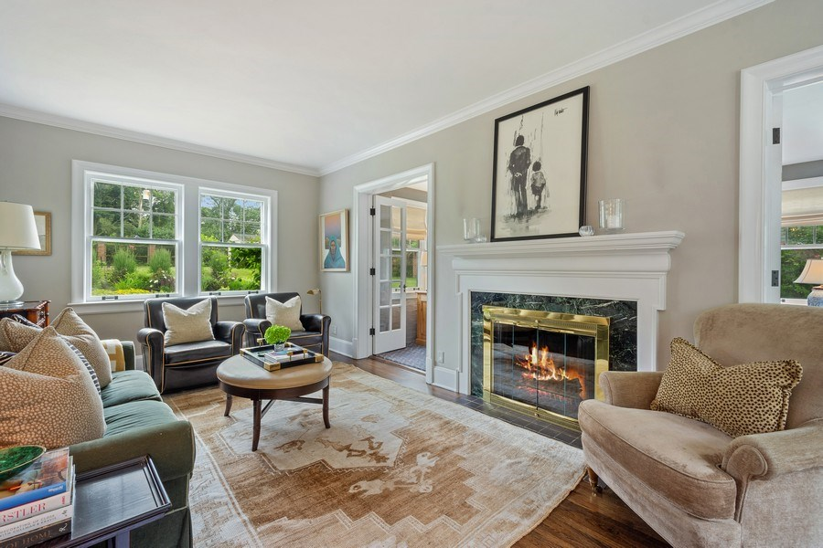 Real Estate Photography - 239 Coolidge Ave, Barrington, IL, 60010 - Living Room