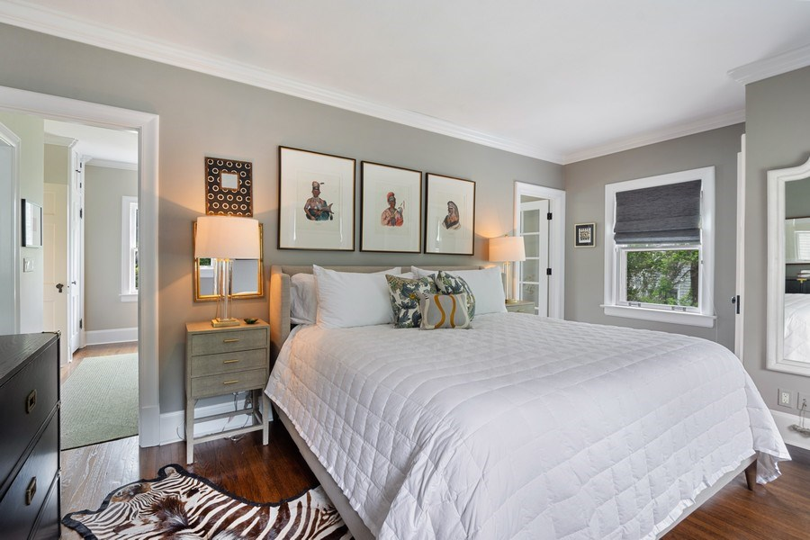 Real Estate Photography - 239 Coolidge Ave, Barrington, IL, 60010 - Master Bedroom