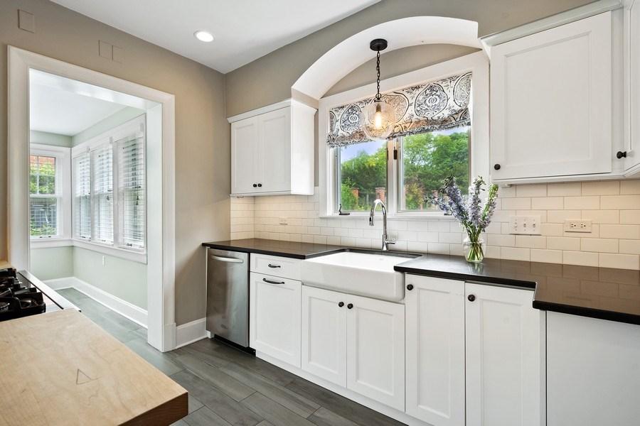 Real Estate Photography - 239 Coolidge Ave, Barrington, IL, 60010 - Kitchen