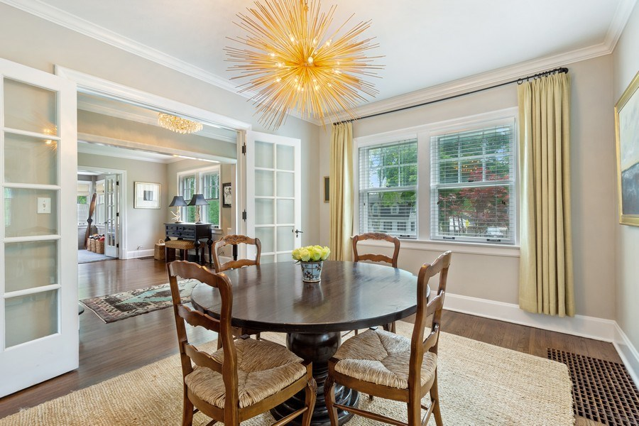 Real Estate Photography - 239 Coolidge Ave, Barrington, IL, 60010 - Dining Room