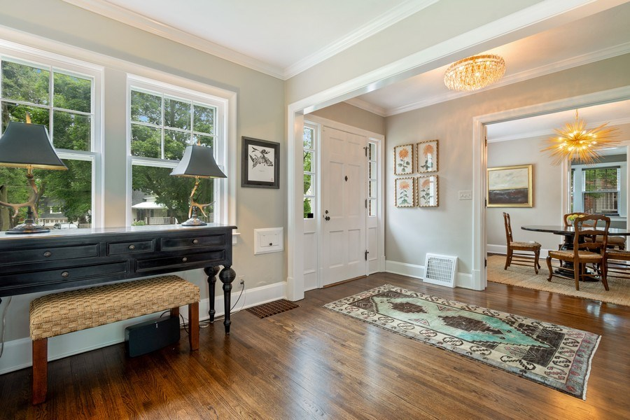 Real Estate Photography - 239 Coolidge Ave, Barrington, IL, 60010 - Foyer