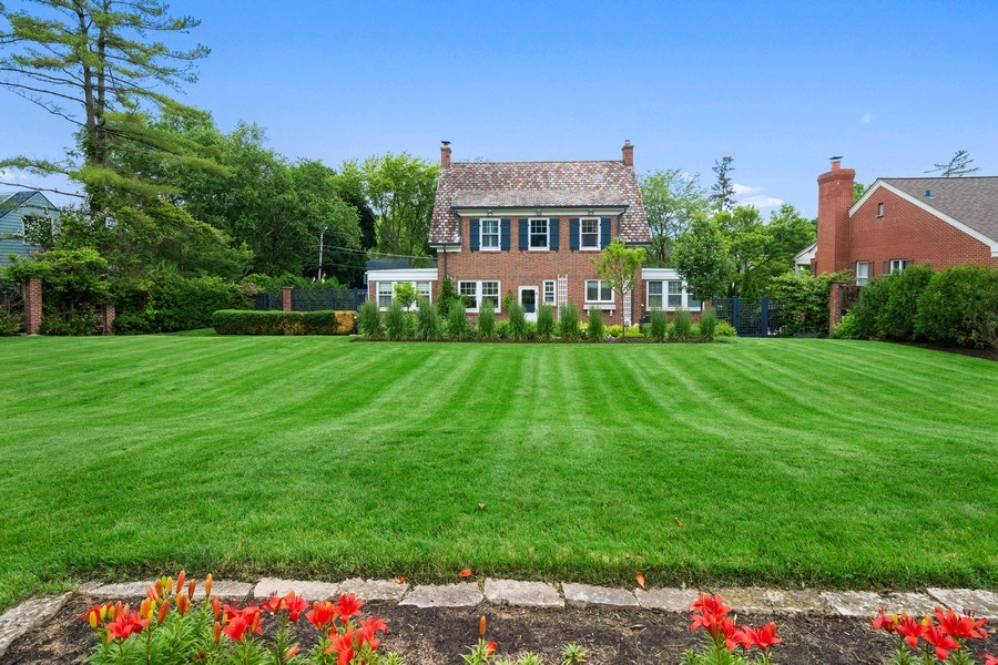 Real Estate Photography - 239 Coolidge Ave, Barrington, IL, 60010 - Rear View