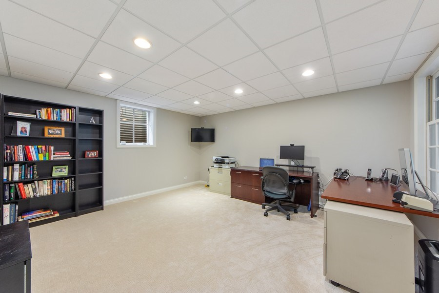 Real Estate Photography - 26026 N Middleton Pkwy, Mundelein, IL, 60060 - 5th Bedroom / Office