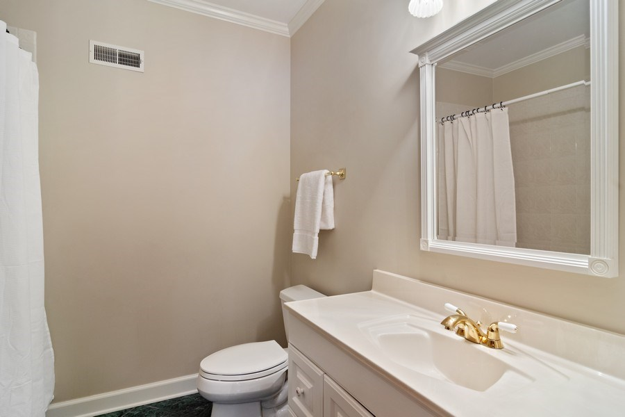 Real Estate Photography - 6231 Pine Tree Ct., Long Grove, IL, 60047 - Lower Level Bathroom