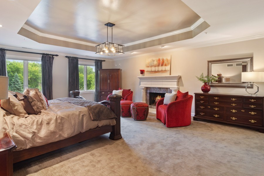 Real Estate Photography - 6231 Pine Tree Ct., Long Grove, IL, 60047 - Master Bedroom
