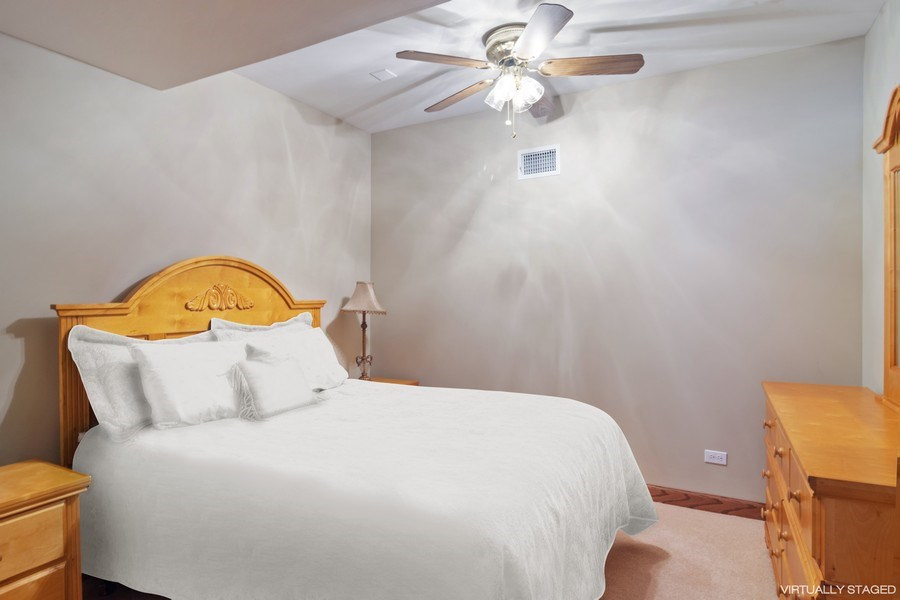 Real Estate Photography - 6231 Pine Tree Ct., Long Grove, IL, 60047 - 6th Bedroom in  Walk-out