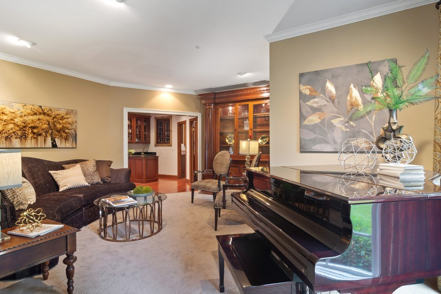Real Estate Photography - 6231 Pine Tree Ct., Long Grove, IL, 60047 - Living Room