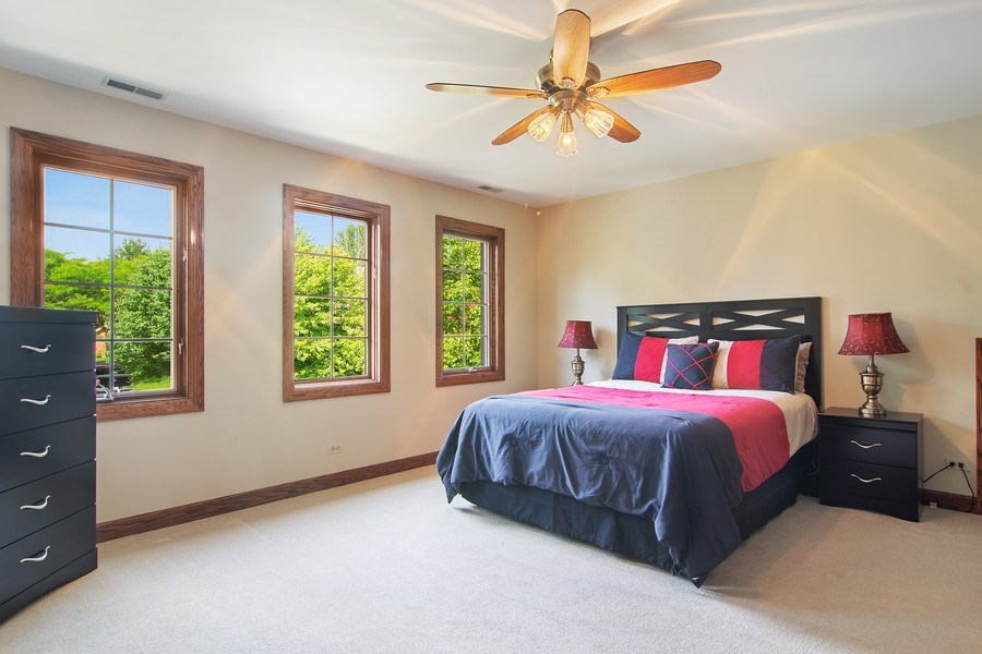 Real Estate Photography - 6231 Pine Tree Ct., Long Grove, IL, 60047 - 2nd Bedroom