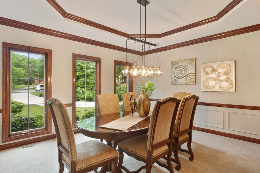 Real Estate Photography - 6231 Pine Tree Ct., Long Grove, IL, 60047 - Dining Room