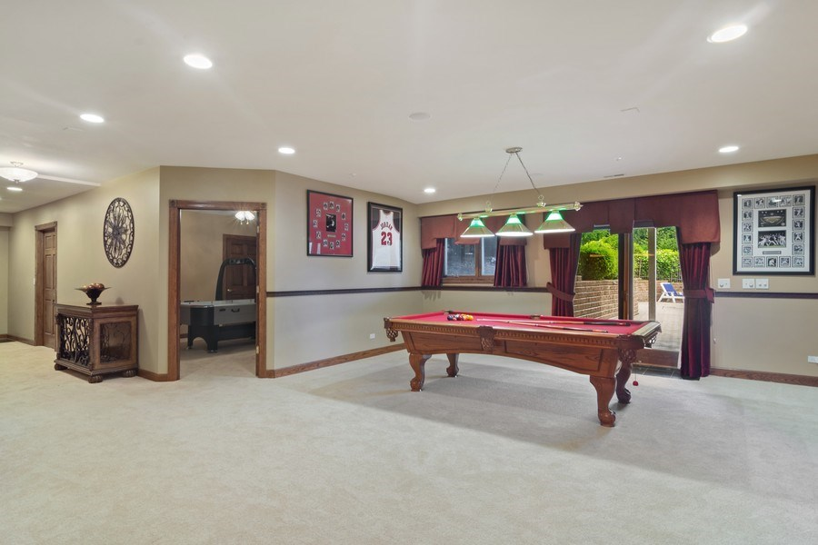 Real Estate Photography - 6231 Pine Tree Ct., Long Grove, IL, 60047 - Recreation Room