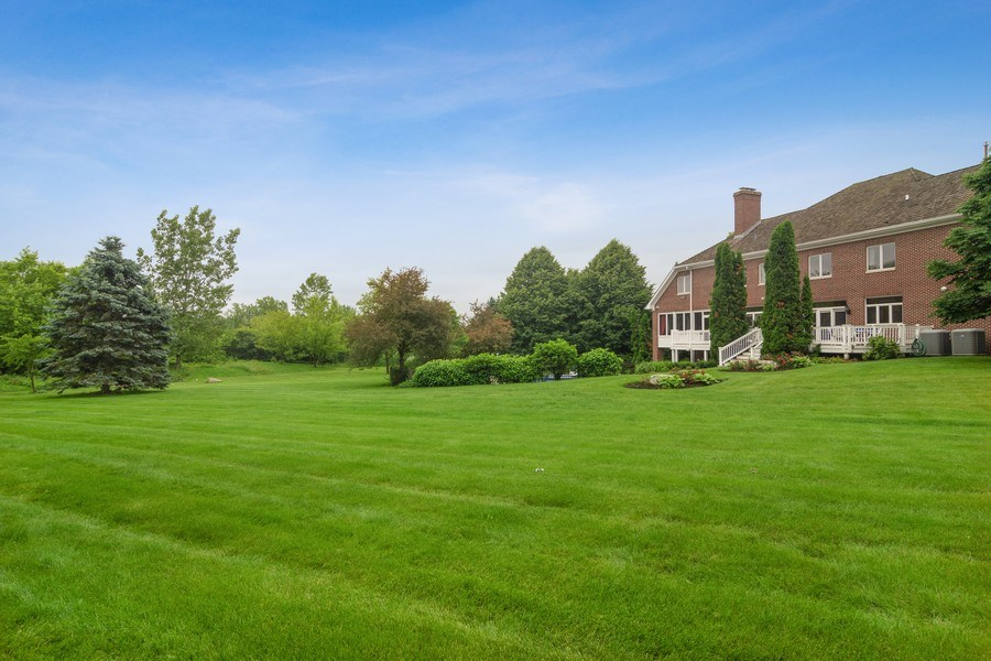 Real Estate Photography - 6231 Pine Tree Ct., Long Grove, IL, 60047 - Back Yard