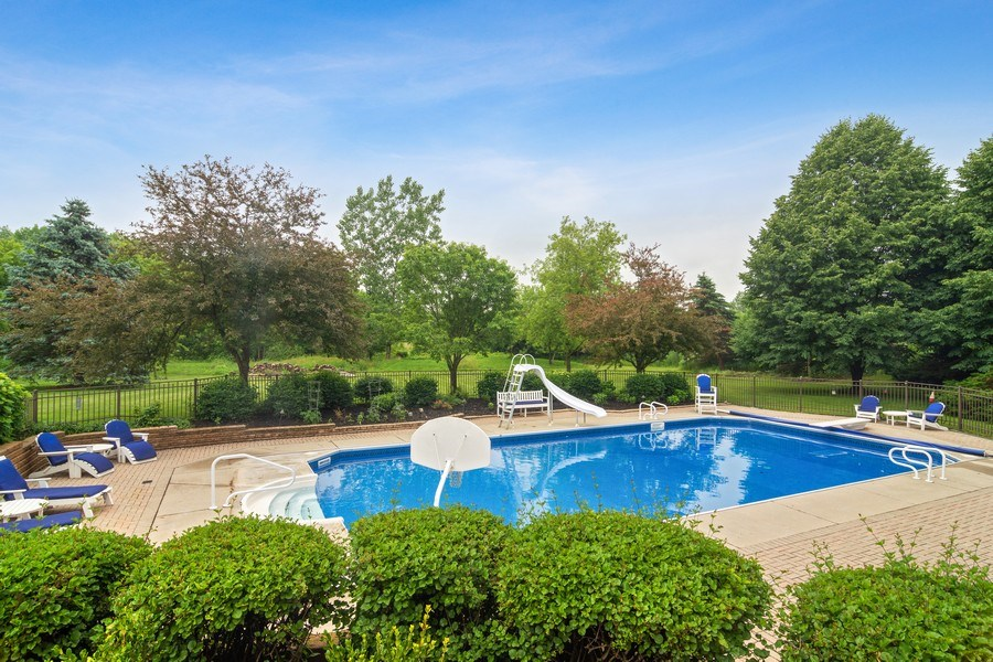 Real Estate Photography - 6231 Pine Tree Ct., Long Grove, IL, 60047 - Pool