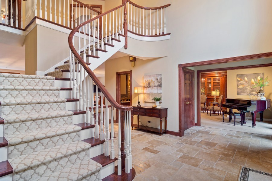 Real Estate Photography - 6231 Pine Tree Ct., Long Grove, IL, 60047 - Foyer