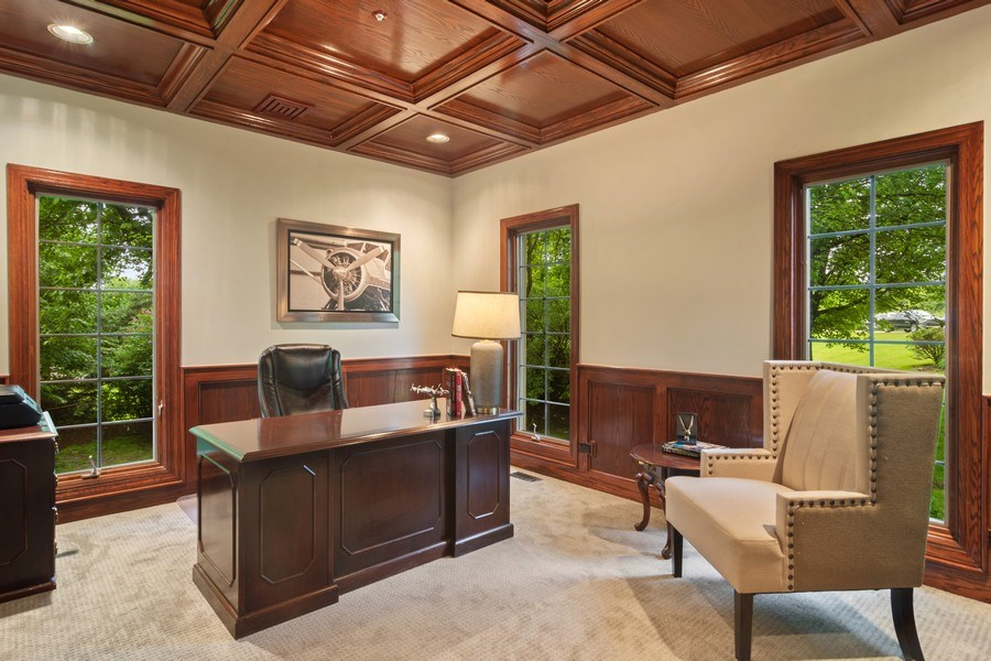 Real Estate Photography - 6231 Pine Tree Ct., Long Grove, IL, 60047 - Study